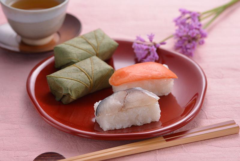 柿の葉寿司2種50個入