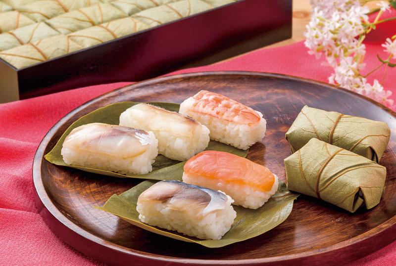 柿の葉寿司5種20個入