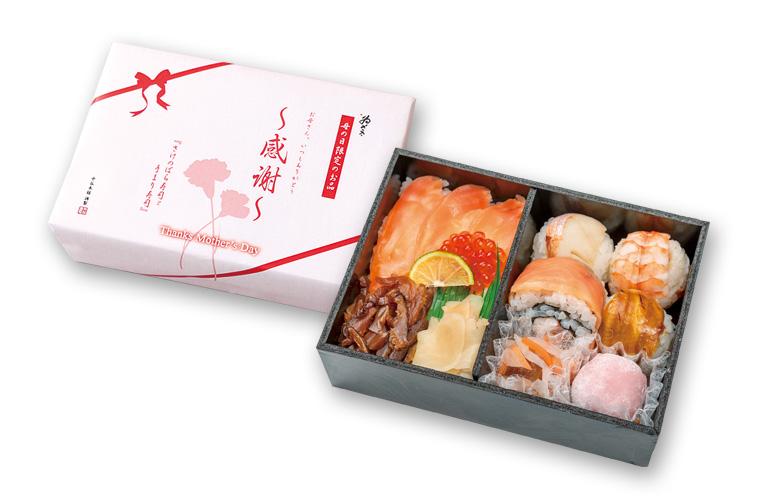 さけのばら寿司と手まり寿司