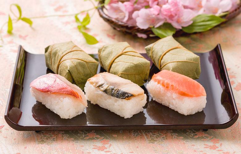春の柿の葉寿司(6個入)