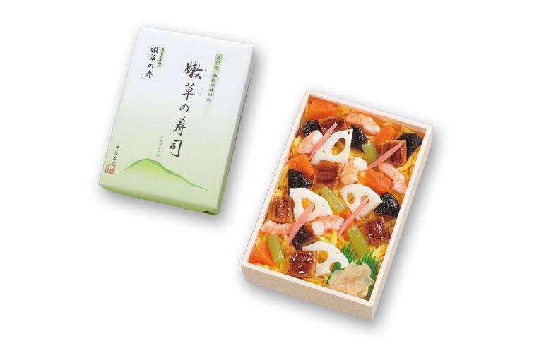 ちらし寿司「嫩草の舞」