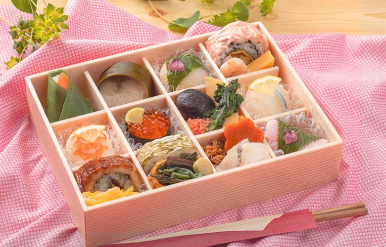春のおとずれ 彩り寿司