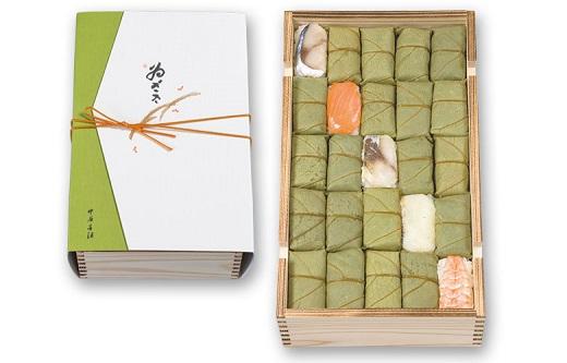 柿の葉寿司5種50個入