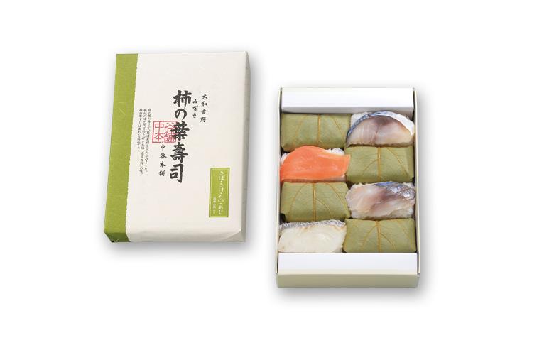 柿の葉寿司4種8個入