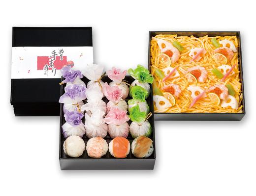手まり寿司・ちらし寿司 二段
